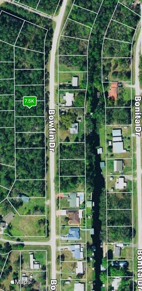 121 BOWFIN DRIVE, PALATKA, Vacant Land / Lot,  for sale, Ibia  Paradello, Ocala Realty World - Selling All of Florida